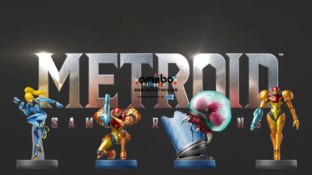 A quoi servent les amiibo dans Metroid Samus Returns
