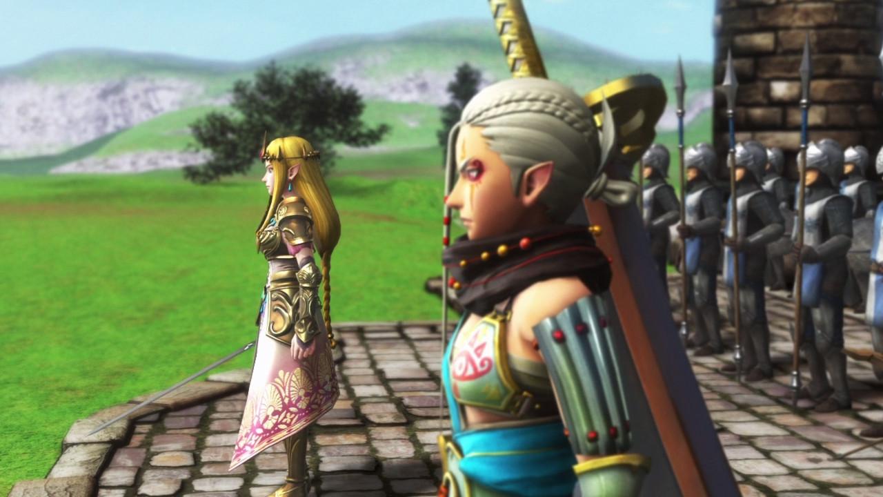 Impa et Zelda