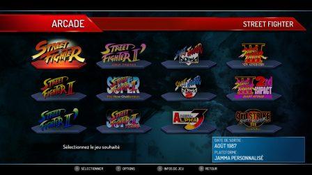 Compilation arcade
