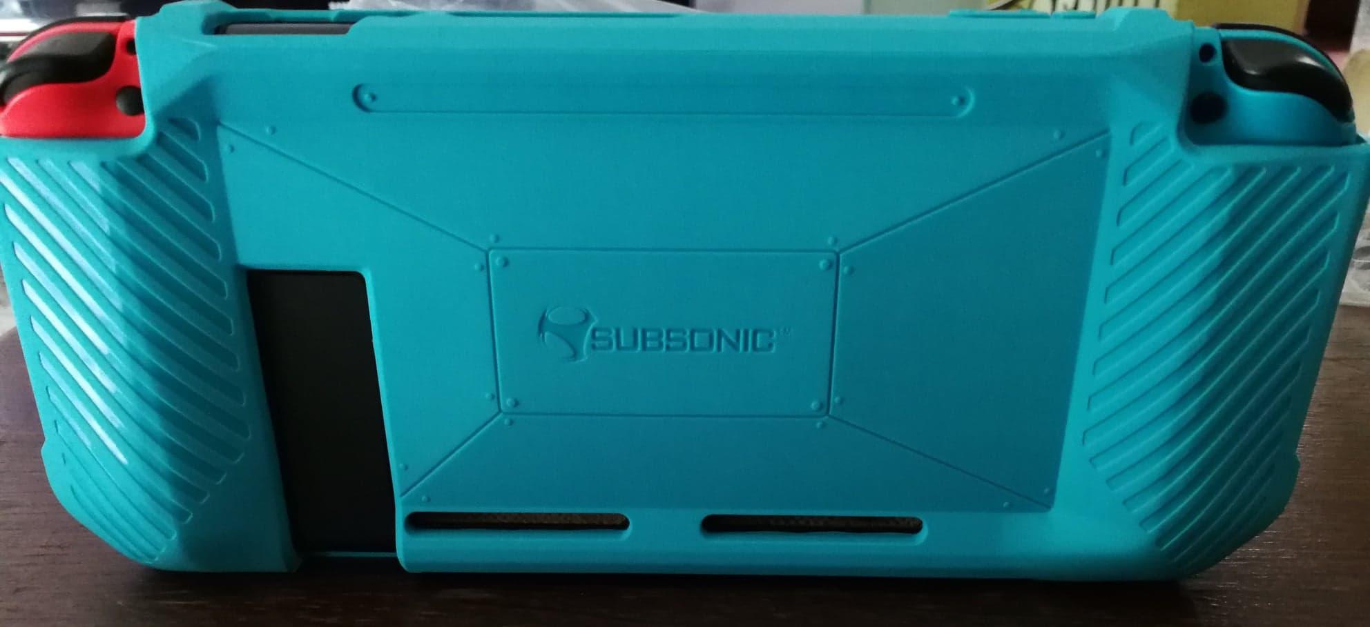 Bumper Case installé sur la Nintendo Switch