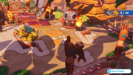 La partie plateforme du DLC Donkey Kong Adventure