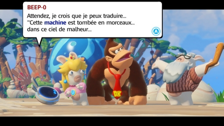 Cinématique du DLC Donkey Kong Adventure