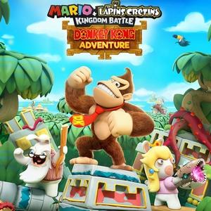Titre de Mario + The Lapins Crétins Kingdom Battle : Donkey Kong Adventure
