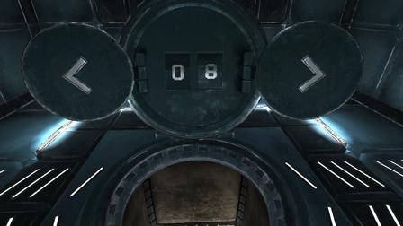 Écran de sélection des niveaux dans Neverout