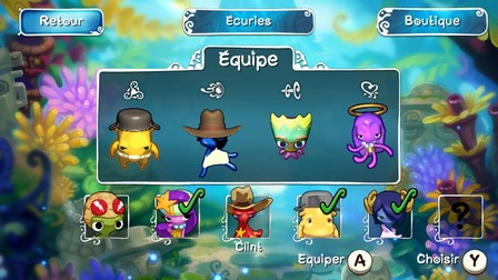 Squids Odyssey Graphismes