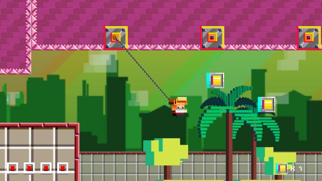 Capture d'écran de Spheroids - Le Brésil