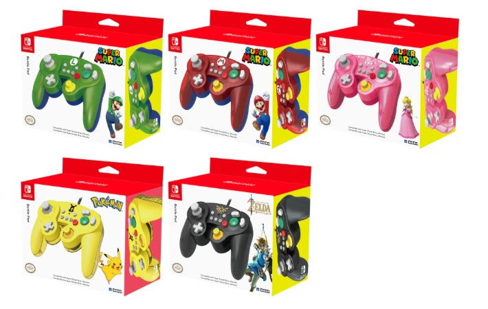 pre order new appearance exquisite style Manettes HORI Battle Pad style GameCube Nintendo Switch à 19 ...