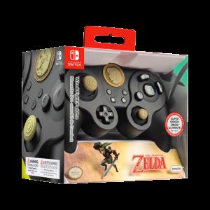 Visuel de la manette Wired Fight Pad Pro Special Edition Link pour Nintendo Switch dans sa boîte