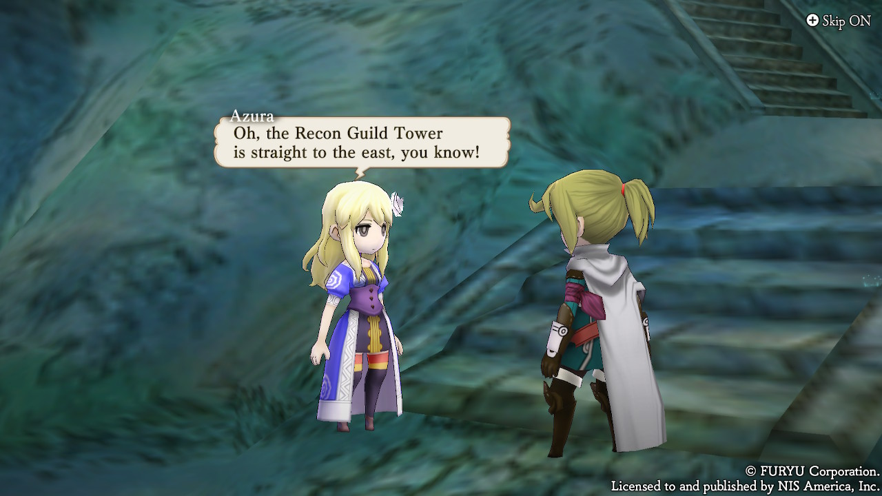 Personnages et textures dans The Alliance Alive HD Remastered
