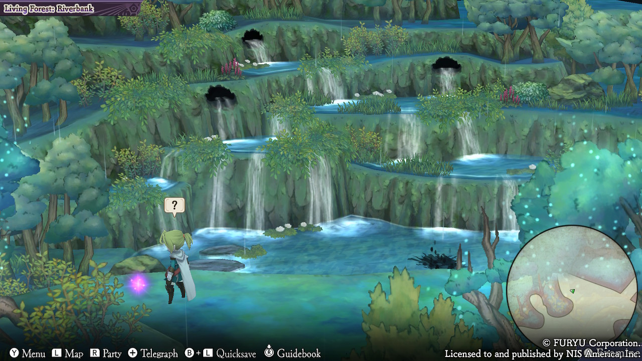 les water spirits dans The Alliance Alive HD Remastered