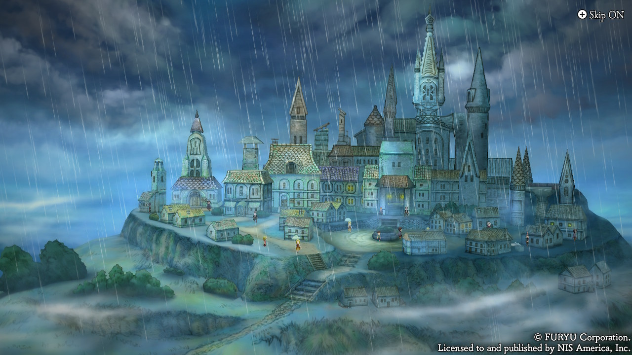 le royaume de la pluie dans The Alliance Alive HD Remastered