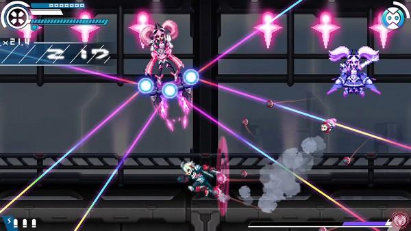 Test : Gunvolt Chronicles : Luminous Avenger iX sur Nintendo Switch