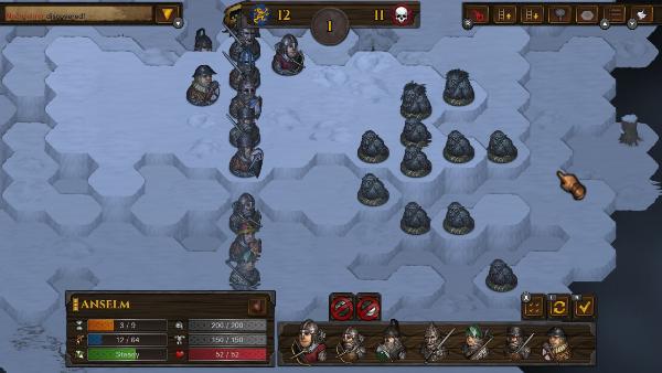 Battle Brothers terrain tactique