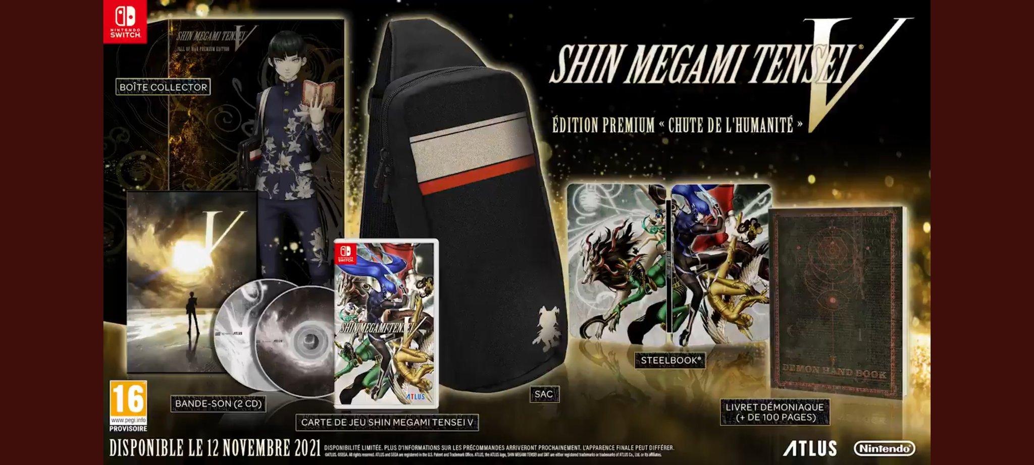 Shin Megami Tensei V : l'Edition Premium